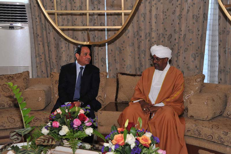 Al-Bashir and Sisi agree to work together in framework of Arab organization to surpass conflicts in region