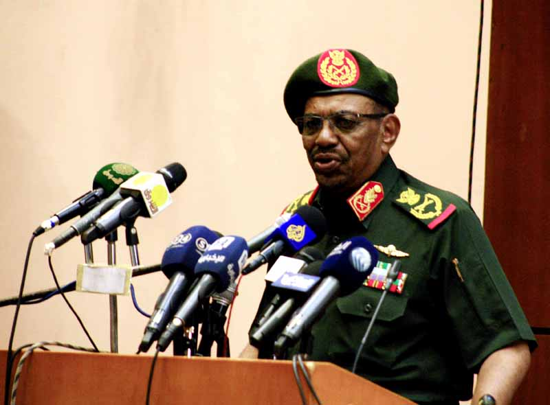 President Bashir hails activities of the Sudan Armed Forces in Yemen