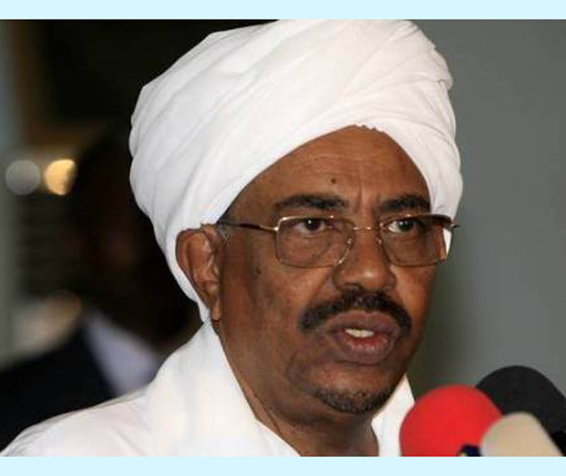Al-Bashir reiterates Sudan keenness to boost its external  relations  with all countries  to achieve  common benefits