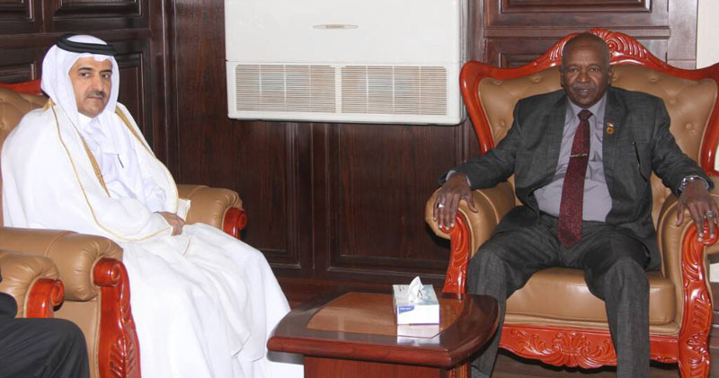 Chief Justice Meets Qatari Attorney General