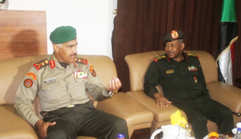 Chief of General Staff of Kuwaiti Army arrives in the country