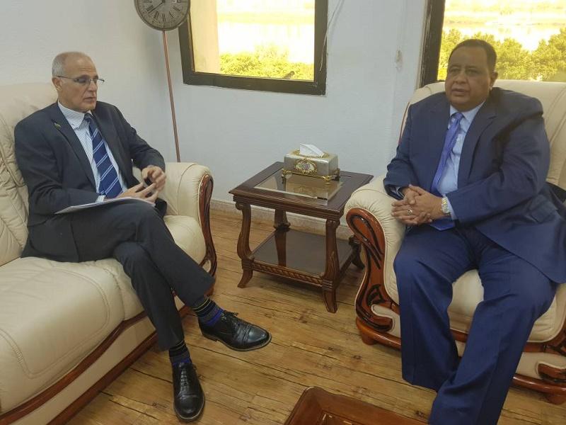 FM Meets British Ambassador