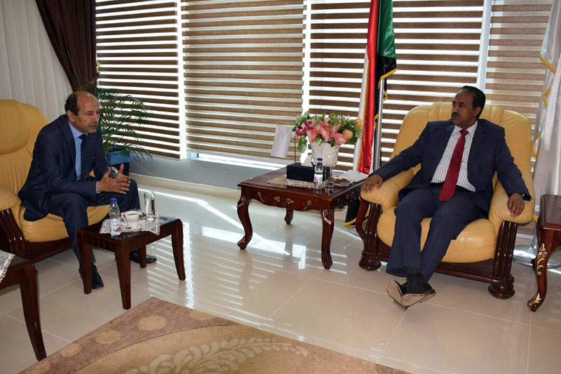 Minister  of Justice meets Ambassador of Morocco