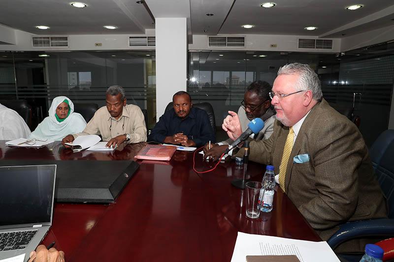 Professor Hoile:  Sudan  has been subjected  to unprecedented , unfair  media campaign