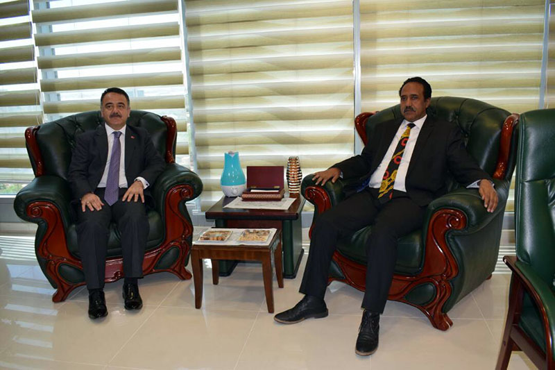 Minister  of Justice lauds depth of   Sudanese-Turkish relations