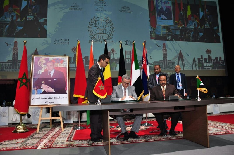 Sudan and Morocco sign judicial Program of Action