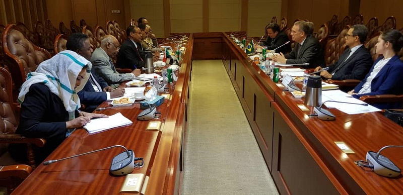 Sudan-Brazil Political Consultation Committee Meets