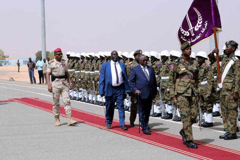Hassabo arrives in Al-Genaina to partake in  Sudanese-Chadian Borders Conference